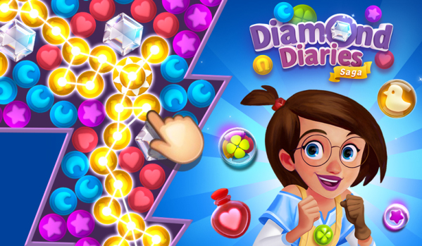 【ANDROID-1.COM DIAMOND DIARIES SAGA】 Gold and Extra Gold FOR ANDROID IOS PC PLAYSTATION | 100% WORKING METHOD | GET UNLIMITED RESOURCES NOW