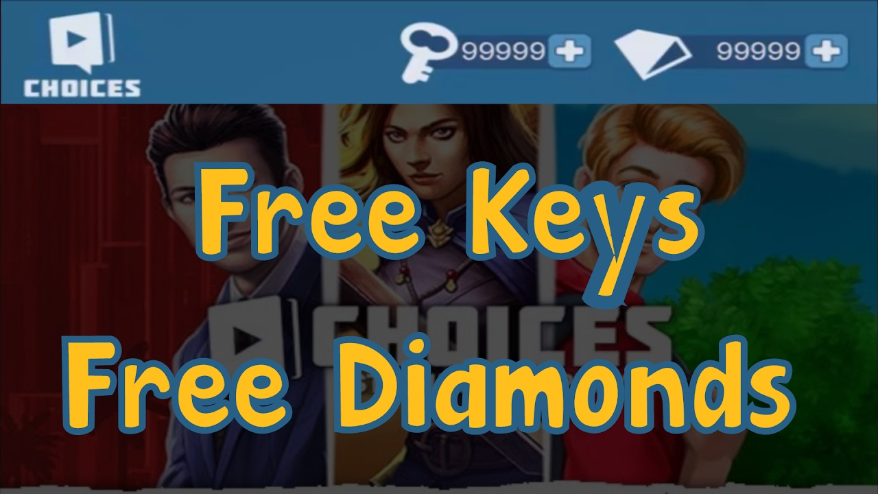 FROM WECHEAT.NET CHOICES THE STORIES YOU PLAY | GET Diamonds and Keys FOR UNLIMITED RESOURCES