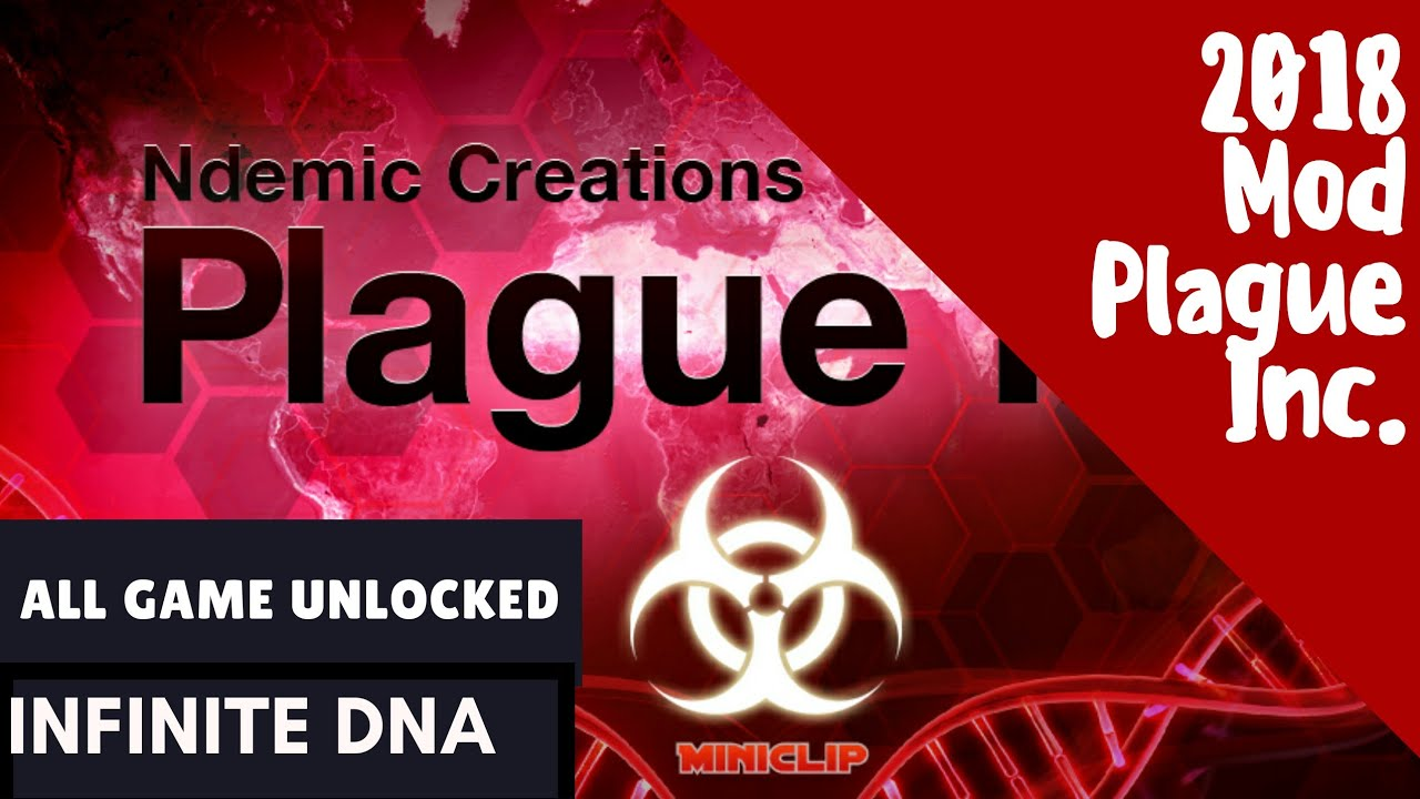 FROM GEEKAXE.COM PLAGUE INC | GET Dna 2x and Dna 4x FOR UNLIMITED RESOURCES