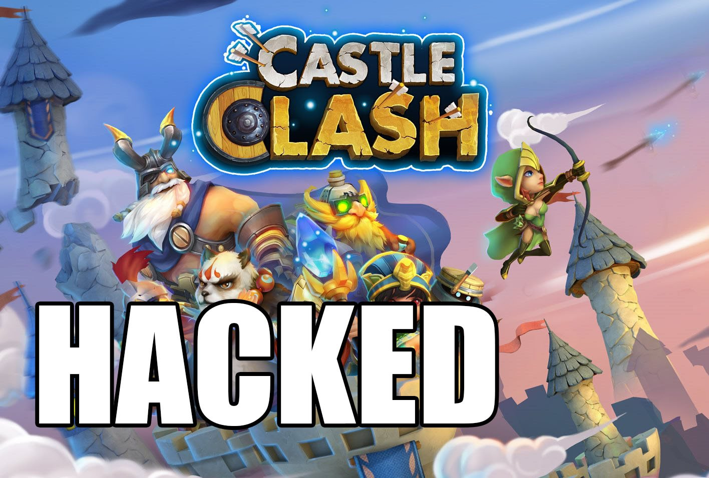 FROM BOOMHACKS.COM CASTLE CLASH | GET Gems and Golds FOR UNLIMITED RESOURCES