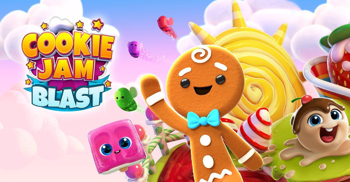 FROM WWW.PLAYER.ONE COOKIE JAM BLAST | GET Coins and Lives FOR UNLIMITED RESOURCES