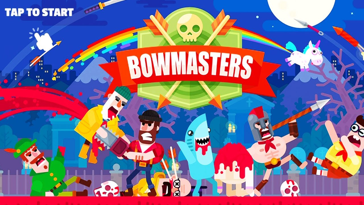 Fresh Update GAMESHERO.ORG BOWMASTERS | UNLIMITED Coins and Gems