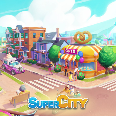Fresh Update GAMEPICK.XYZ SUPERCITY | UNLIMITED Gold and Superbucks