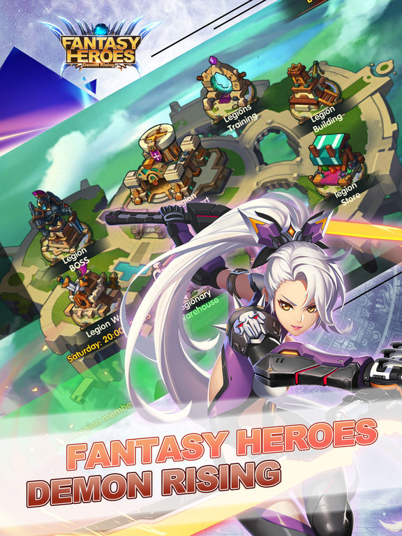 GAMEHACKSPACE.COM FANTASY HEROES DEMON RISING Cash and Diamonds FOR ANDROID IOS PC PLAYSTATION | 100% WORKING METHOD | GET UNLIMITED RESOURCES NOW