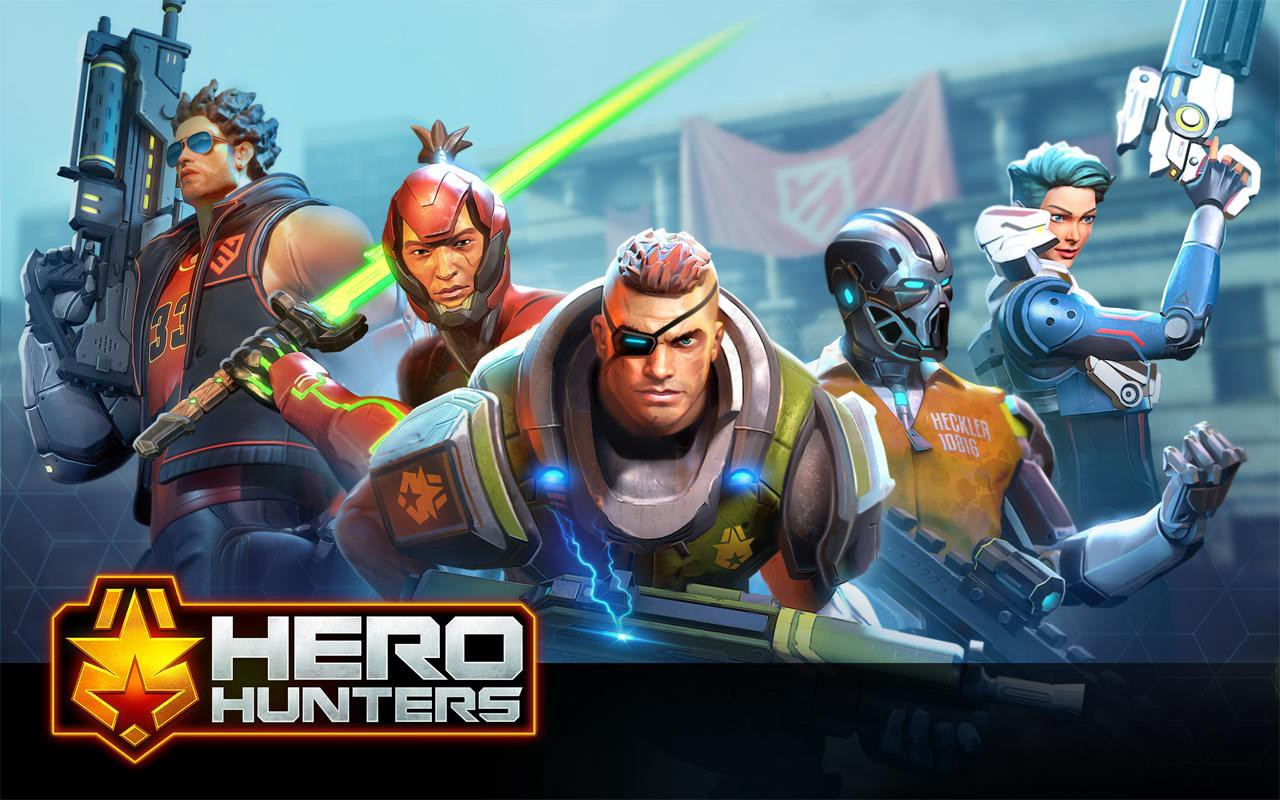 [INFO] ANDROID-1.COM HERO HUNTERS | UNLIMITED Bucks and Gold