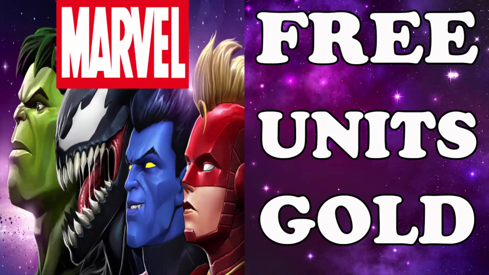 [INFO] REWARDCONTEST.INFO MARVEL | UNLIMITED Gold and Units