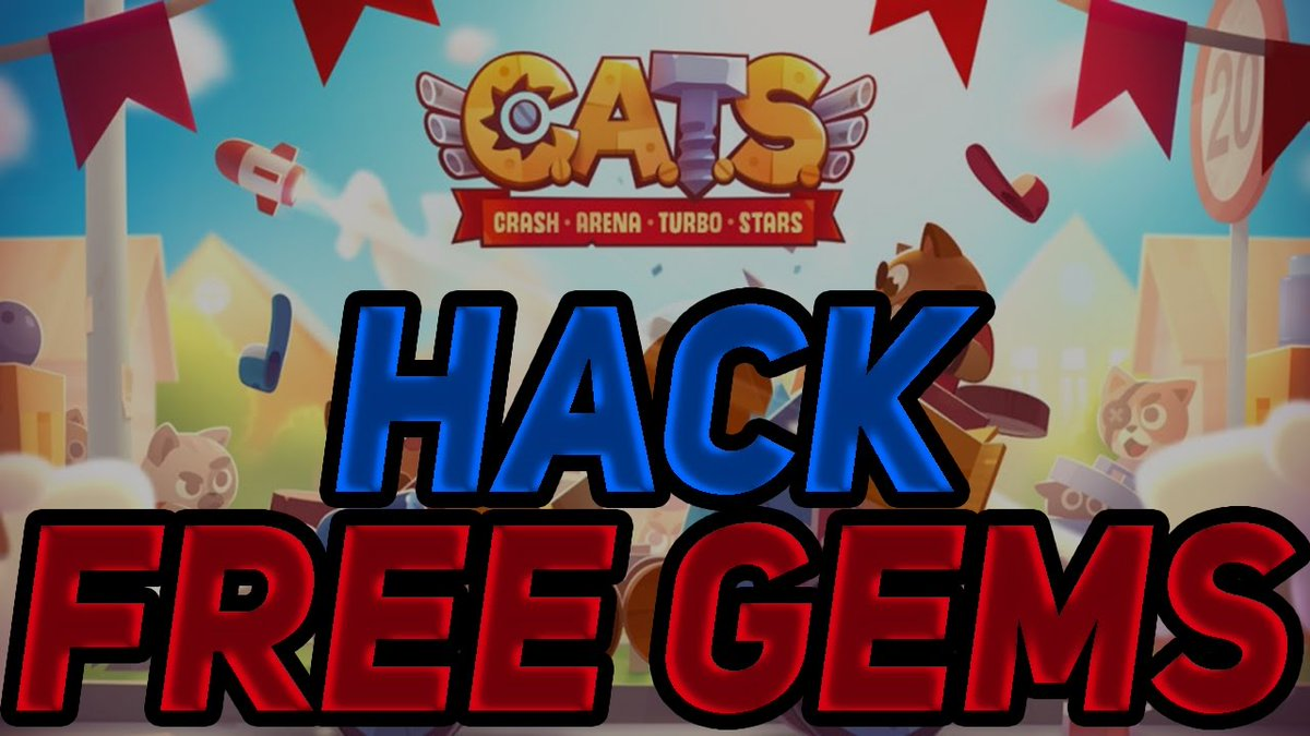 [INFO] VDSKD.COM CATS CATS CRASH ARENA TURBO | UNLIMITED Coins and Gems