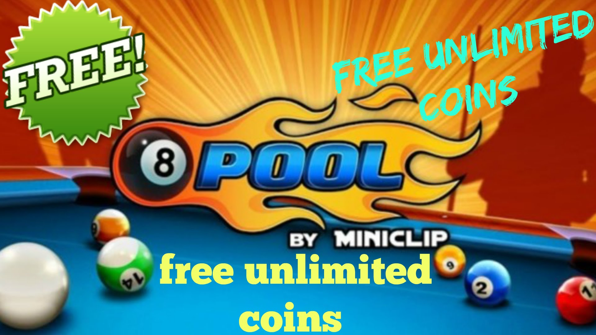 NEW METHOD – 8BALLPOOLHACK.PW 8 BALL POOL – UNLIMITED Cash and Coins