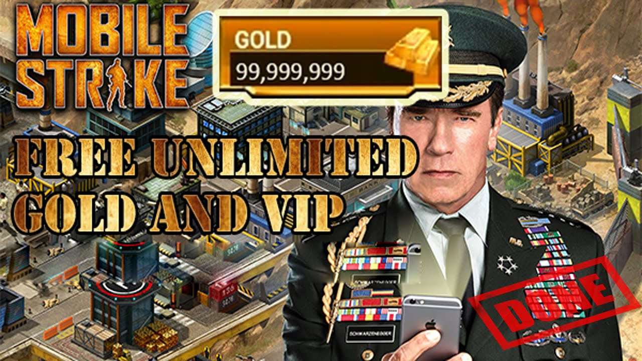 NEW METHOD – GAMEISTAR.COM MOBILE STRIKE MOBILE STRIKE – UNLIMITED Gold and Vip