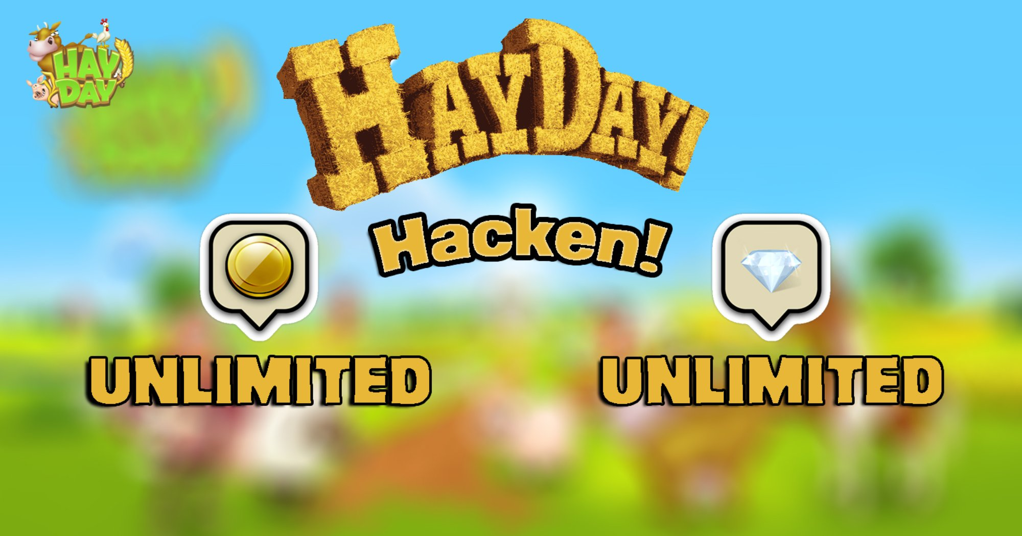 NEW METHOD – HAYDAYHACKTODAY.SERVICES HAY DAY – UNLIMITED Coins and Diamonds