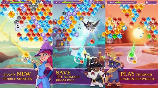 NEW METHOD – THEBIGCHEATS.COM BUBBLE WITCH 3 SAGA – UNLIMITED Gold and Lives