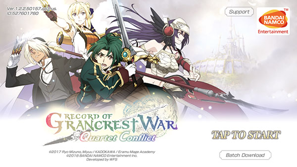 WWW.GRABYOURCODE.COM GRANCREST WAR QUARTET CONFLICT – GET UNLIMITED RESOURCES Crest Stone and Extra Crest Stone FOR ANDROID IOS PC PLAYSTATION | 100% WORKING METHOD | NO VIRUS – NO MALWARE – NO TROJAN