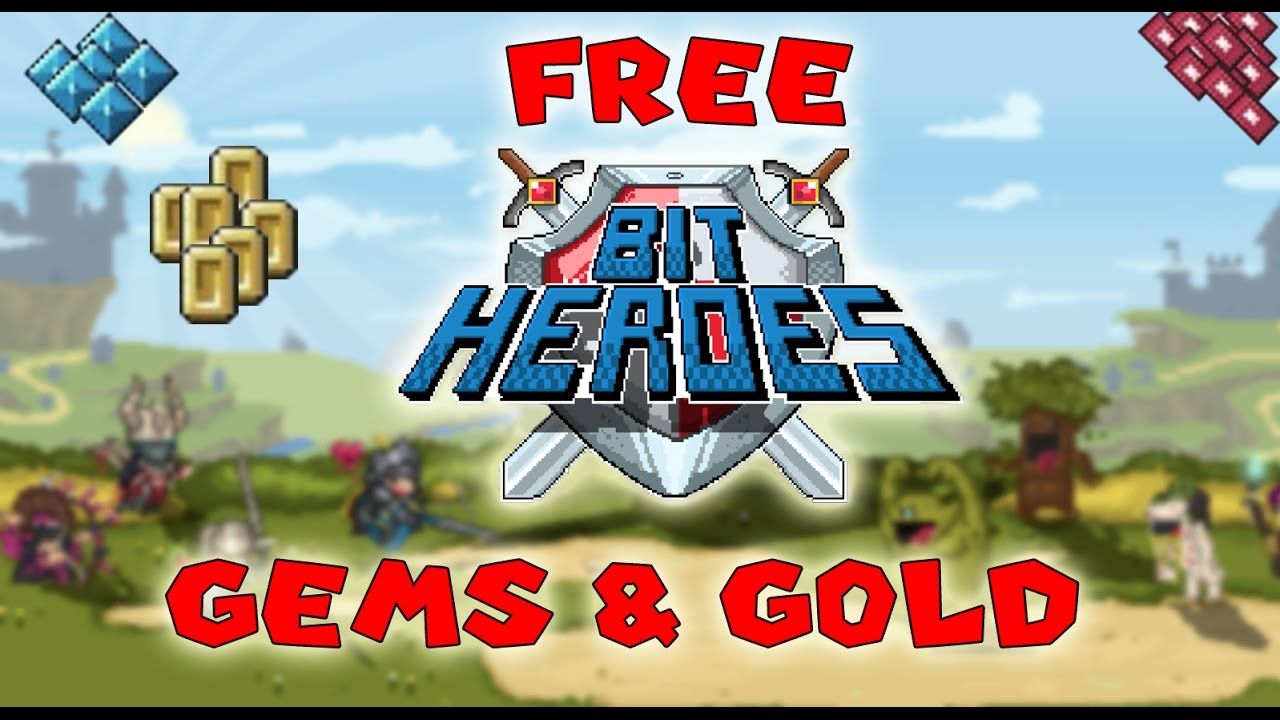 DOWNLOADHACKEDGAMES.COM BIT HEROES – Gems and Golds