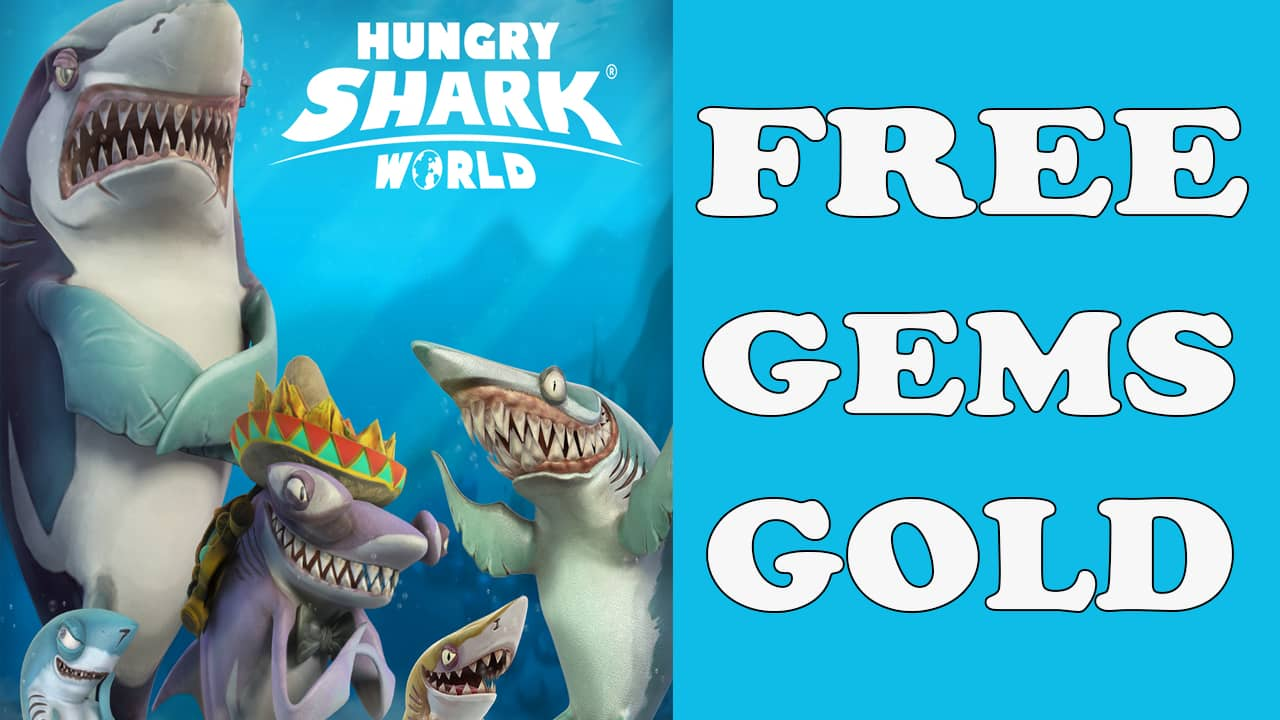 GAMESOFFICE.NET HUNGRY SHARK WORLD – Golds and Gems