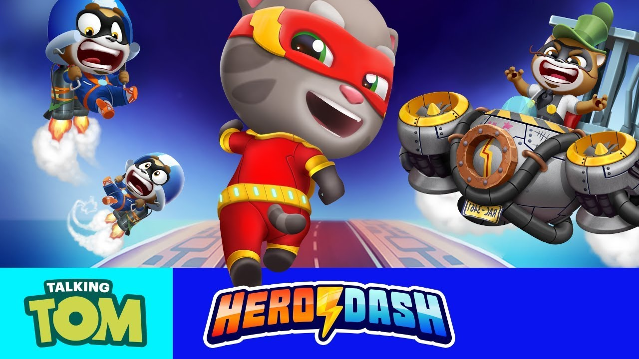 [INFO] GETPLAY.XYZ TOM TALKING TOM HERO DASH | UNLIMITED Credits and Diamonds