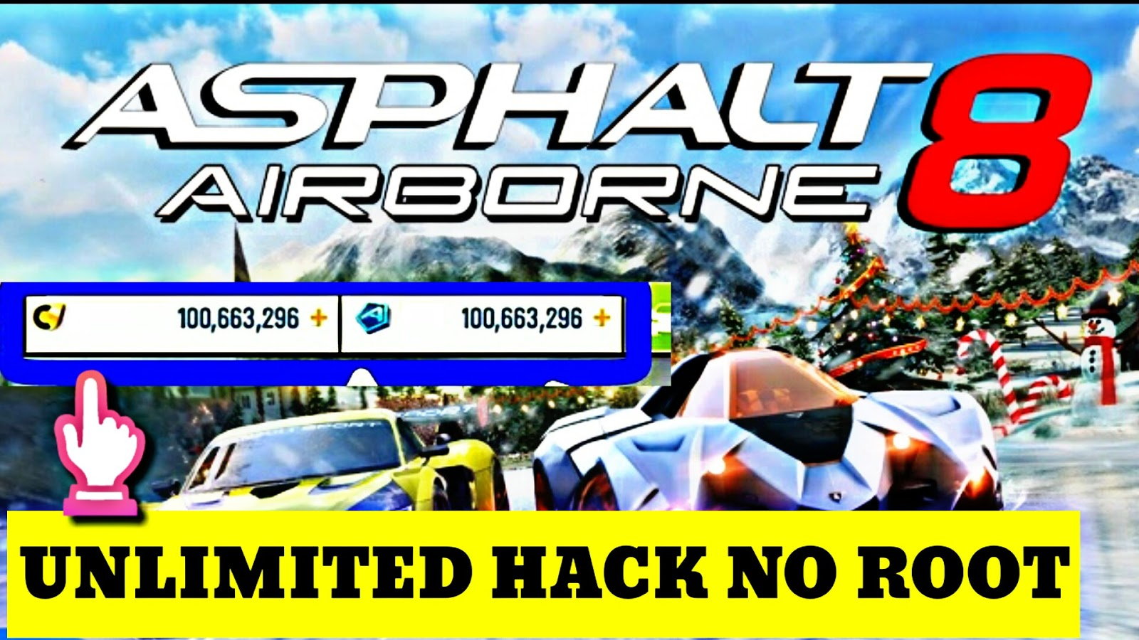 NEW METHOD – GAMEHACKNOW.COM ASPHALT 8 – UNLIMITED Credits and Tokens