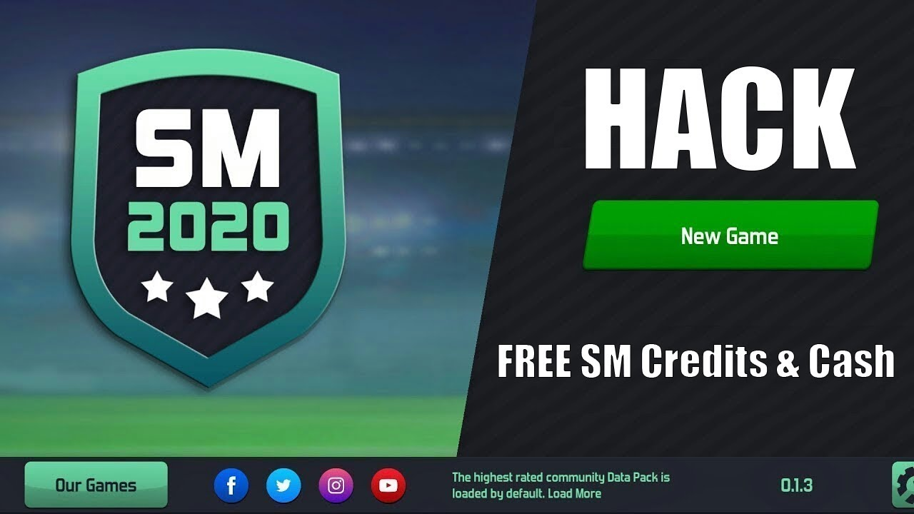 MOBITWEAKS.COM SOCCER MANAGER 2020 – Cash and Credits