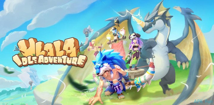 ANDROID-1.COM ULALA IDLE ADVENTURE – Pearls and Extra Pearls
