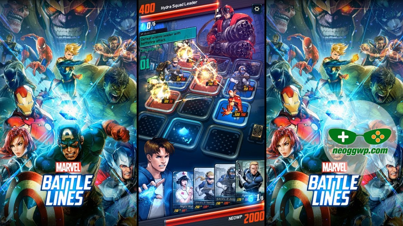 GAMELOOT.XYZ MBL MARVEL BATTLE LINES