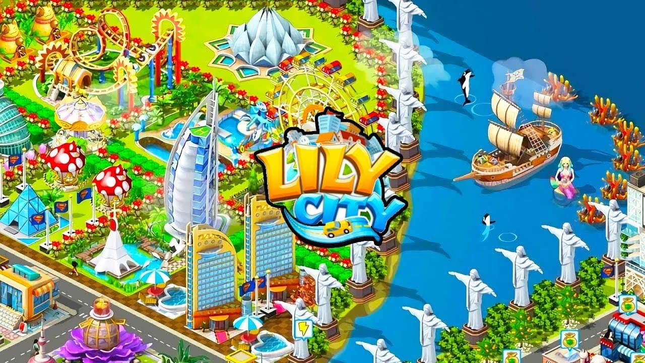 TECHINFOAPK.COM LILY CITY – Coins and Cash